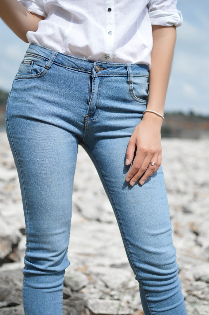 Today's jeans are stretchier and more versatile than the work pants of the early days.