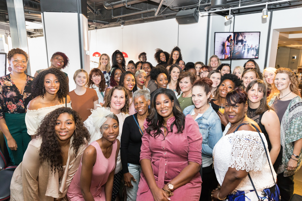 There's nothing we love more than a group of tall ladies getting together and having fun.