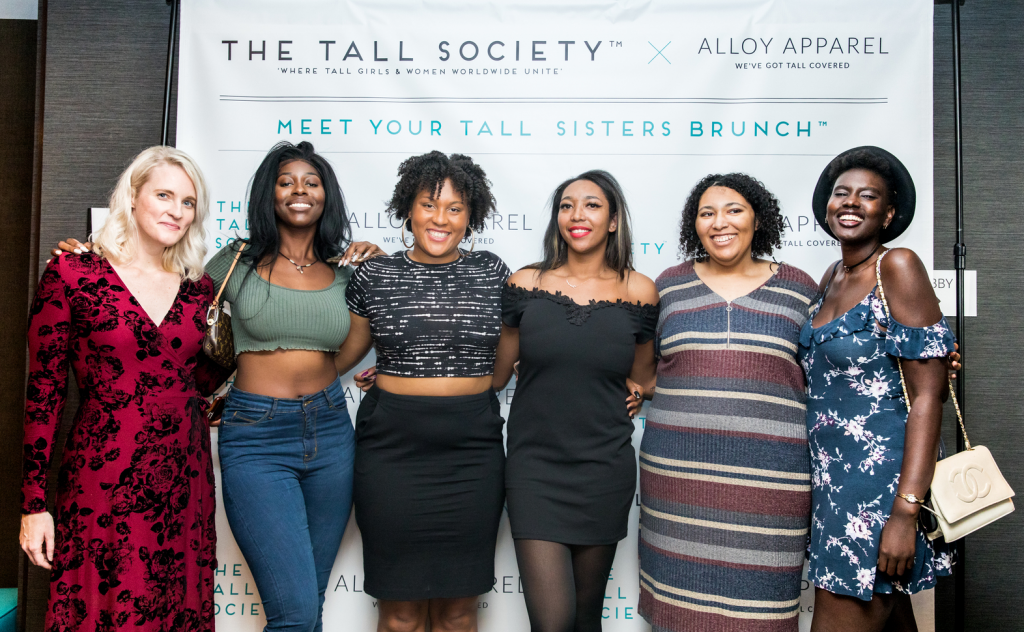 The Tall Society brings together the fiercest tall babes around.