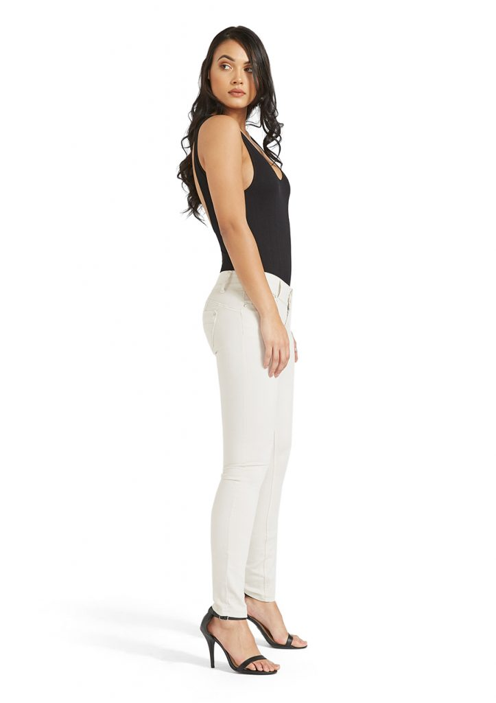 Tall Women's jeans, off white or cream skinny jeans.