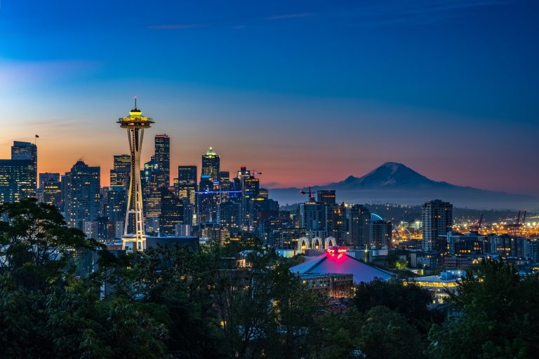 Seattle is such a cool girl travel spot for 2019.